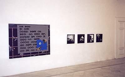 Marc Chevalier-Jean-Robert Cutta - La Station -  Art Contemporain - Nice - Uomini con baffi in Napoli