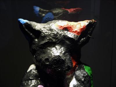 Ingrid Luche - M. Pigman, 2011 (détail) - La Station -  Art Contemporain - Nice - Ingrid Luche / Bruno Serralongue