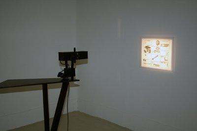 Bettina Samson-Julien Tiberi -  X-Ray 3 Echo (oeuvre réalisée en commun) — 2006 - La Station -  Art Contemporain - Nice - Certains travaux doivent être accomplis à la surface du sol...