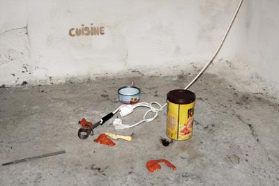 Laurent Tixador - La cuisine - La Station -  Art Contemporain - Nice - La Grande Symbiose II