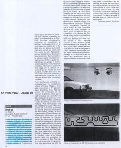 Octobre 1999 Art Press
