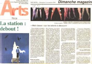 12 Novembre 2000 Nice-matin