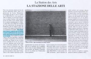 Décembre 1996, magazine Côte