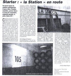 Mai 1996 Scènes d'azur