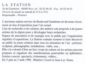 Juin 1996 Guid'arts