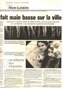 11 Novembre 2000 Nice-matin-1