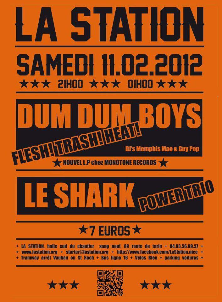 Dum Dum Boys - Le Shark - La Station - Art Contemporain - Nice Côte d'Azur