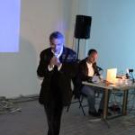 présentation de Pierre Le Pillouër et du webmaster Emmanuel Olégine