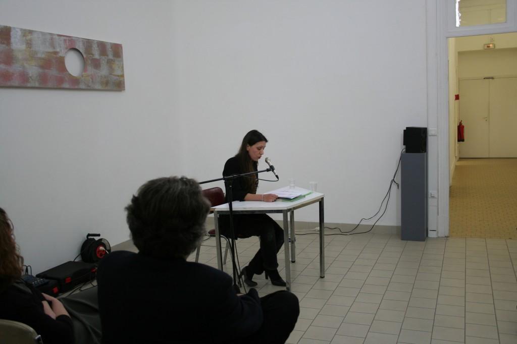 Cécile Mainardi Bascule Oratoire printemps des poètes art contemporain nice