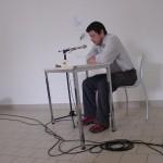 lecture de Franck Fontaine bascule oratoire printemps des poètes