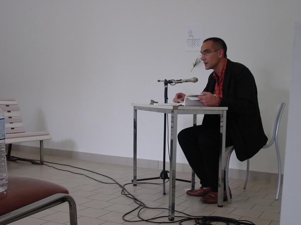 lecture d'Emmanuel Fournier bascule oratoire printemps des poètes