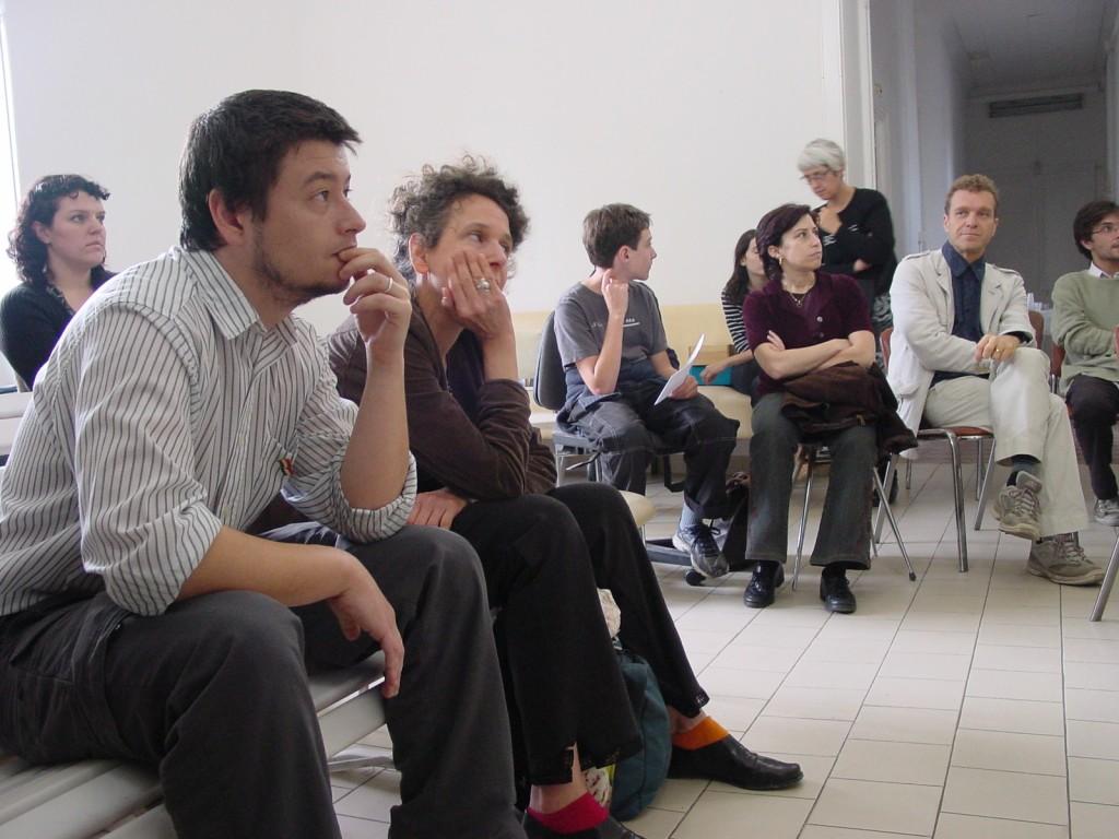 public de la Bascule oratoire printemps des poètes nice