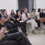 public de la Bascule oratoire printemps des poètes