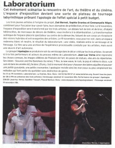 Octobre 2010 La Strada