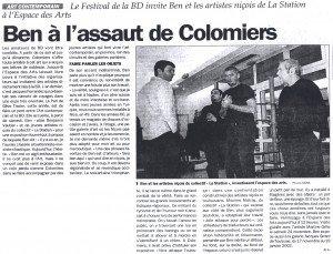 16 Novembre 2001 La dépêche du midi