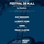 Festival MAI Projet Cluster - exposition INSIGHTLIGHT Jerome PORET