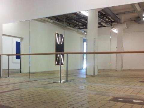 La Station art contemporain nice Olivier Mosset Maxime Thomas