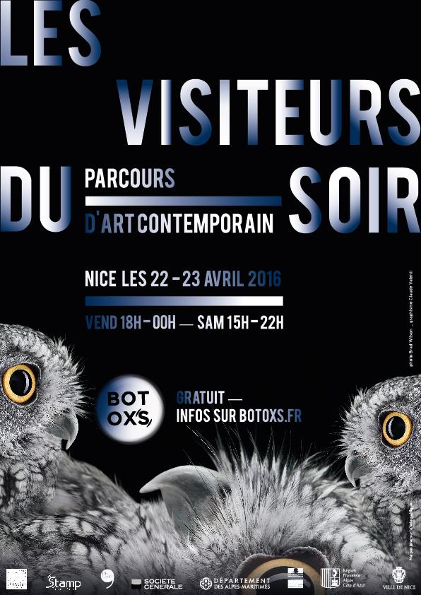 botoxs visiteurs du soir réseau d'art contemporain cote d'azur
