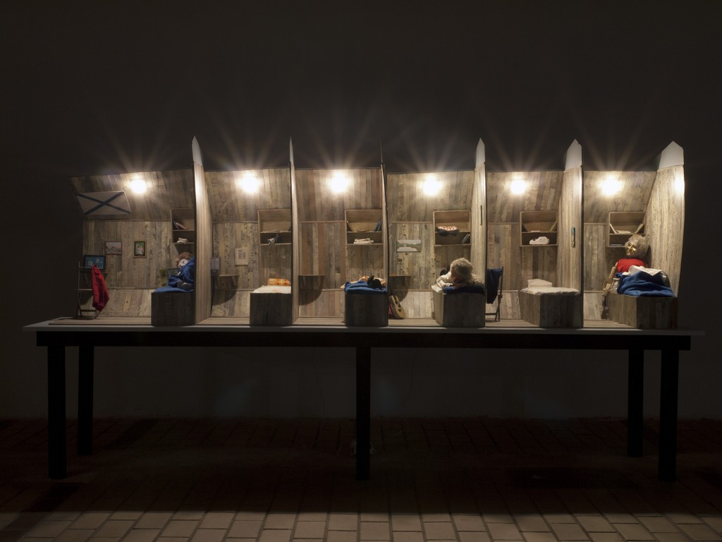 bertrand dezoteux en attendant mars la station art contemporain nice movimenta