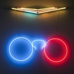 sho-oter exposition Pauline Brun Rémi Groussin art contemporain performance néon sculpture vidéo nice 109