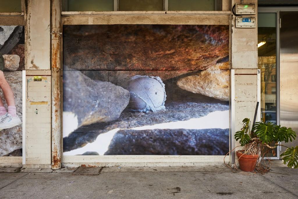 baptiste croze linda sanchez exposition a terre la station nice art contemporain residences temporaires drac paca